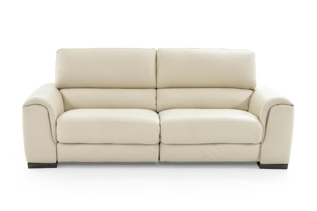 Natuzzi Editions Davide B969 446 Cream Power Reclining Sofa With  # Muebles Natuzzi Puerto Rico