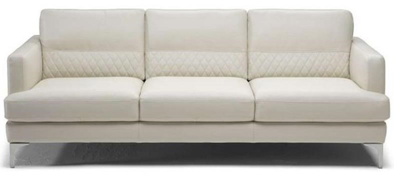 sofa with textured lower back - Natuzzi Sofa