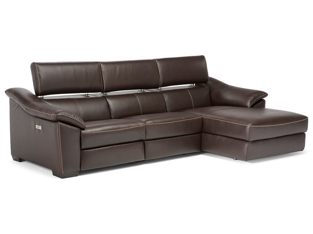 Natuzzi Editions Emozione Contemporary 3-Piece Power ...