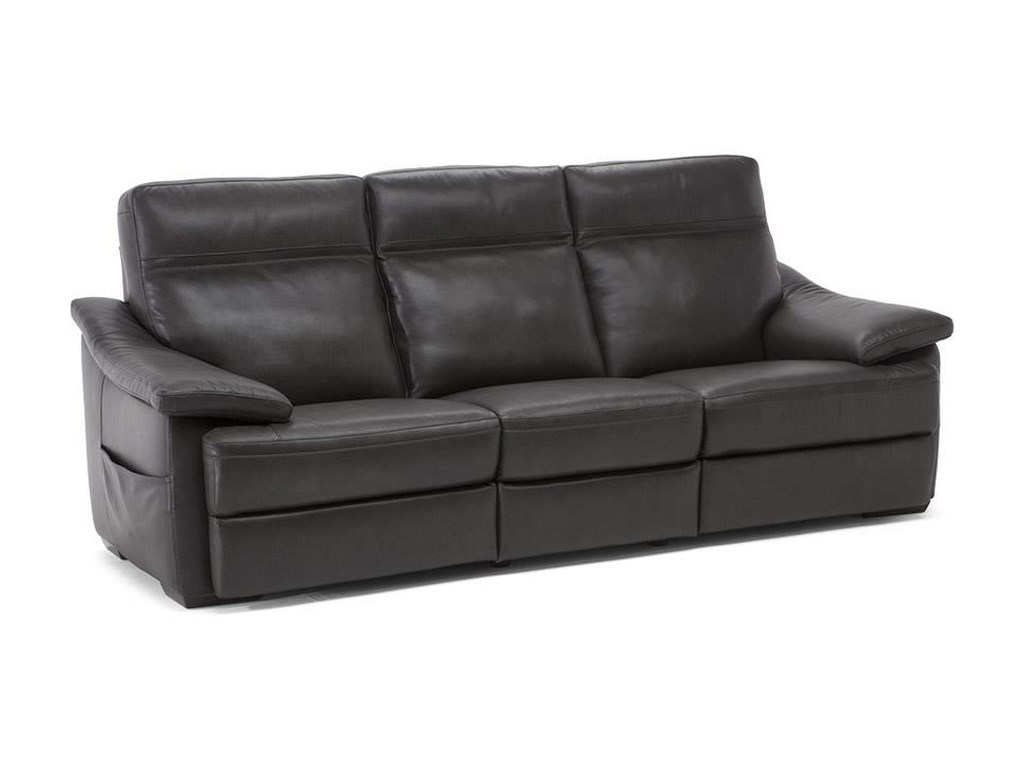 Natuzzi Editions Pazienza C012-N55 Contemporary Reclining Sofa with ...