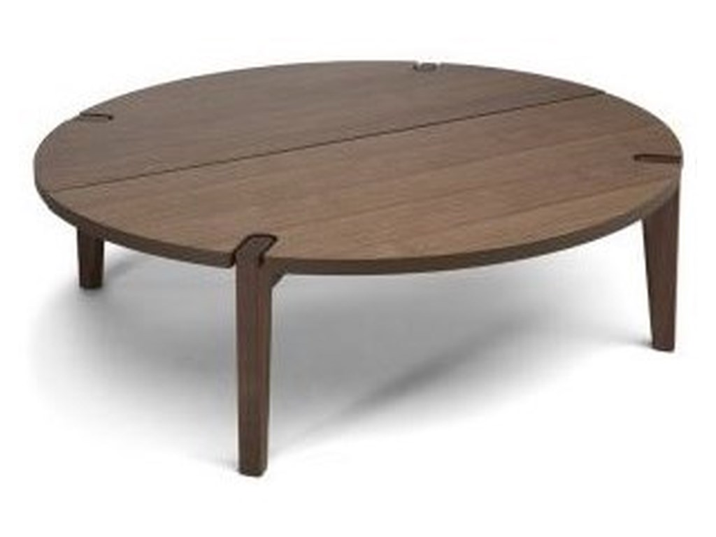 Natuzzi Editions MerlotRound Table