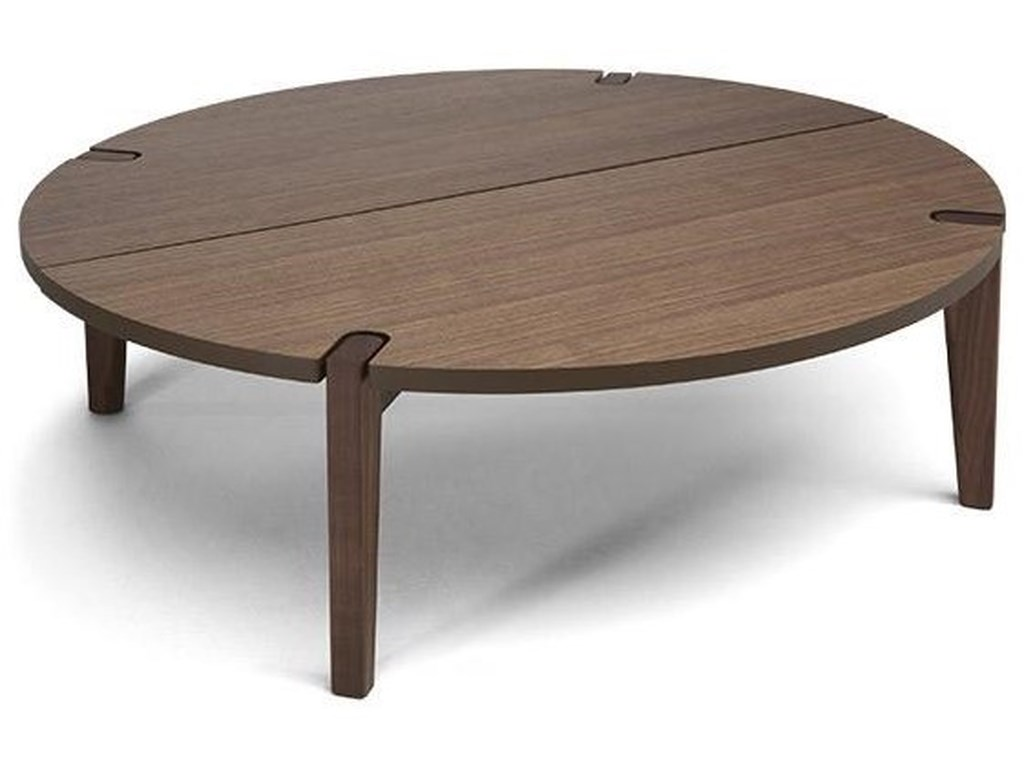 Natuzzi Editions MerlotCoffee Table