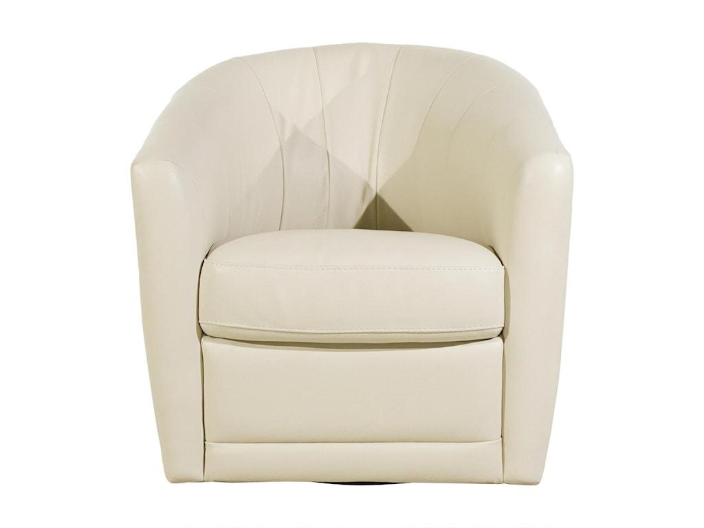 Natuzzi Editions Giada Swivel Chair