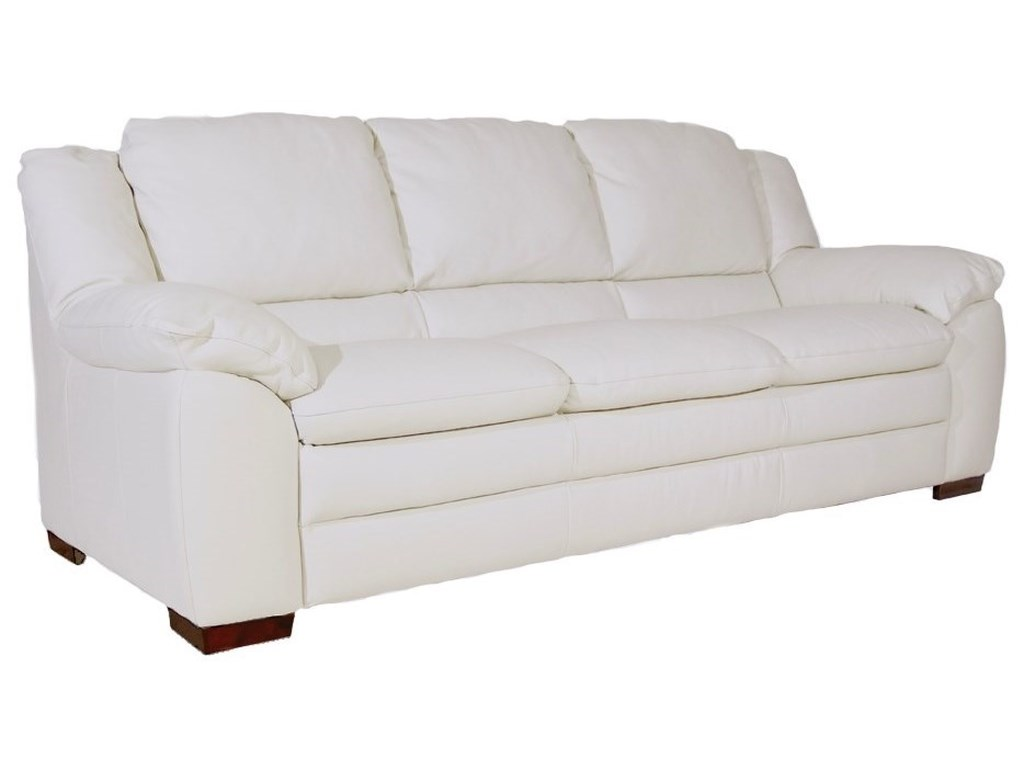 Natuzzi Editions Vito Casual Sofa With Pillow Arms Wilson S