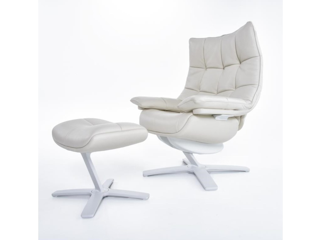 Natuzzi Re-vive 600 ModelUph Recliner Chair