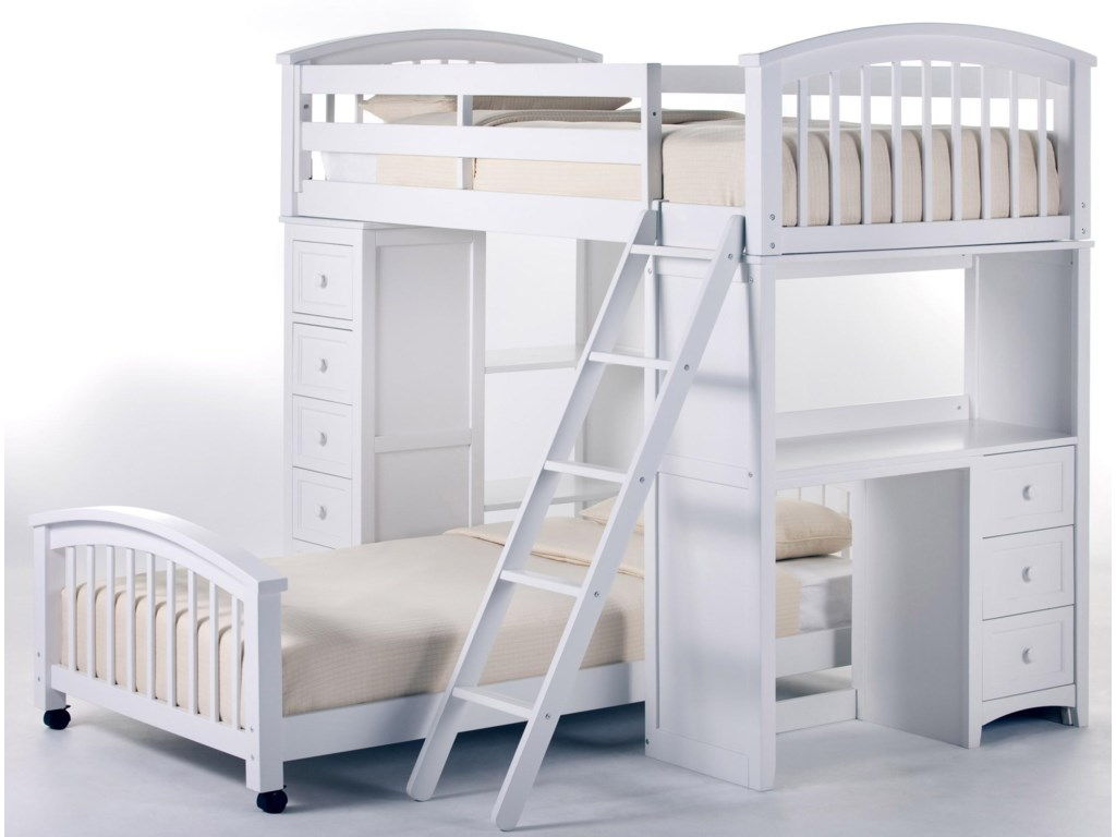 Shown with Student Loft Bed