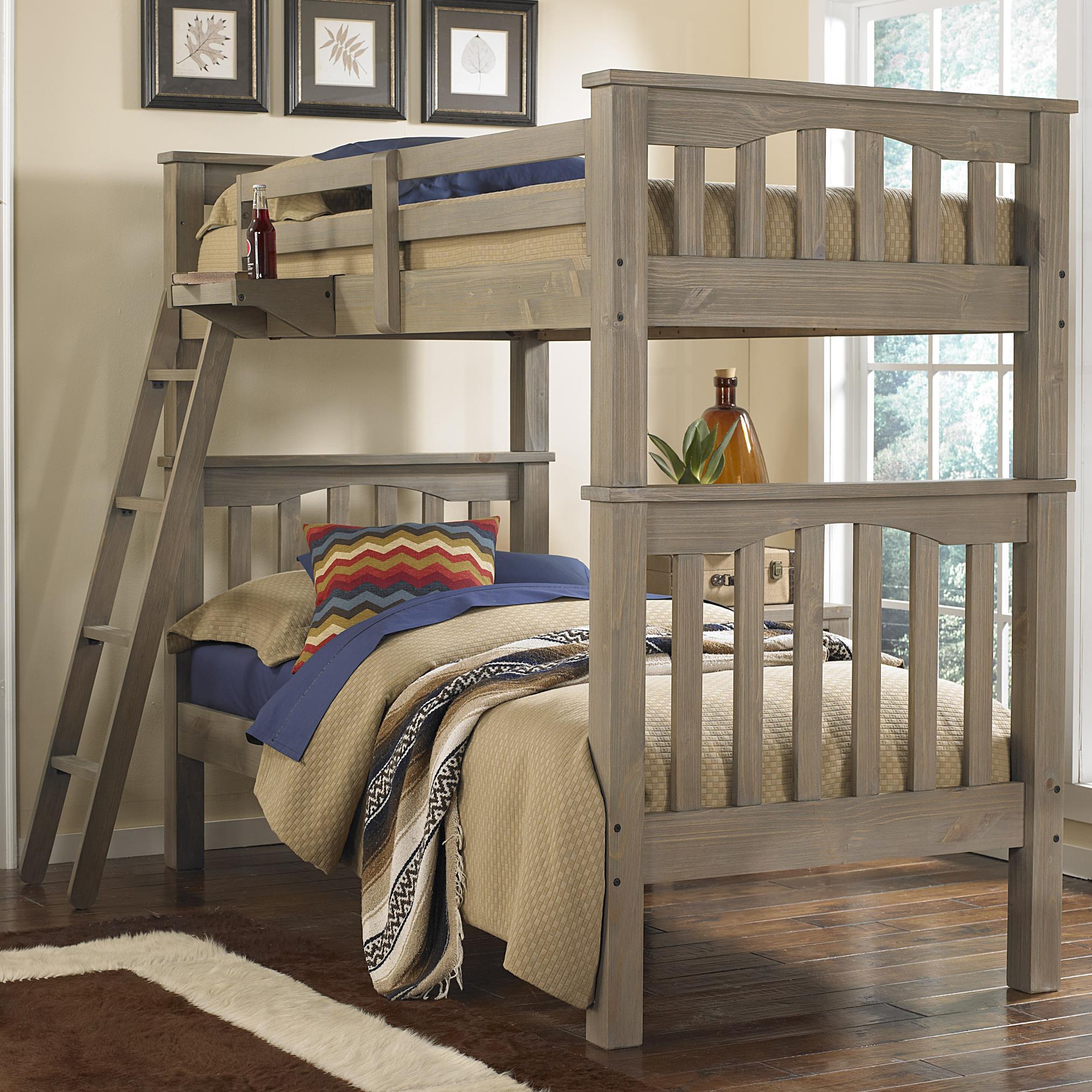 NE Kids HighlandsTwin Over Twin Harper Bunk Bed