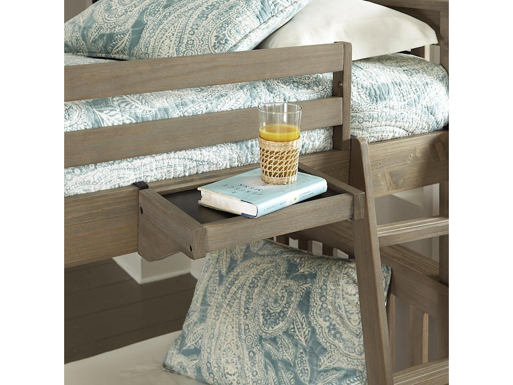 NE Kids HighlandsTwin Over Full Harper Bunk Bed With Trundle
