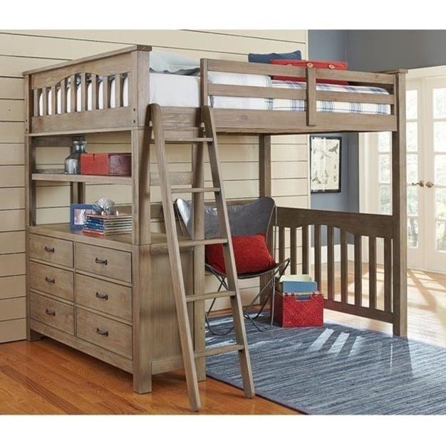 NE Kids HighlandsTwin Loft Bed