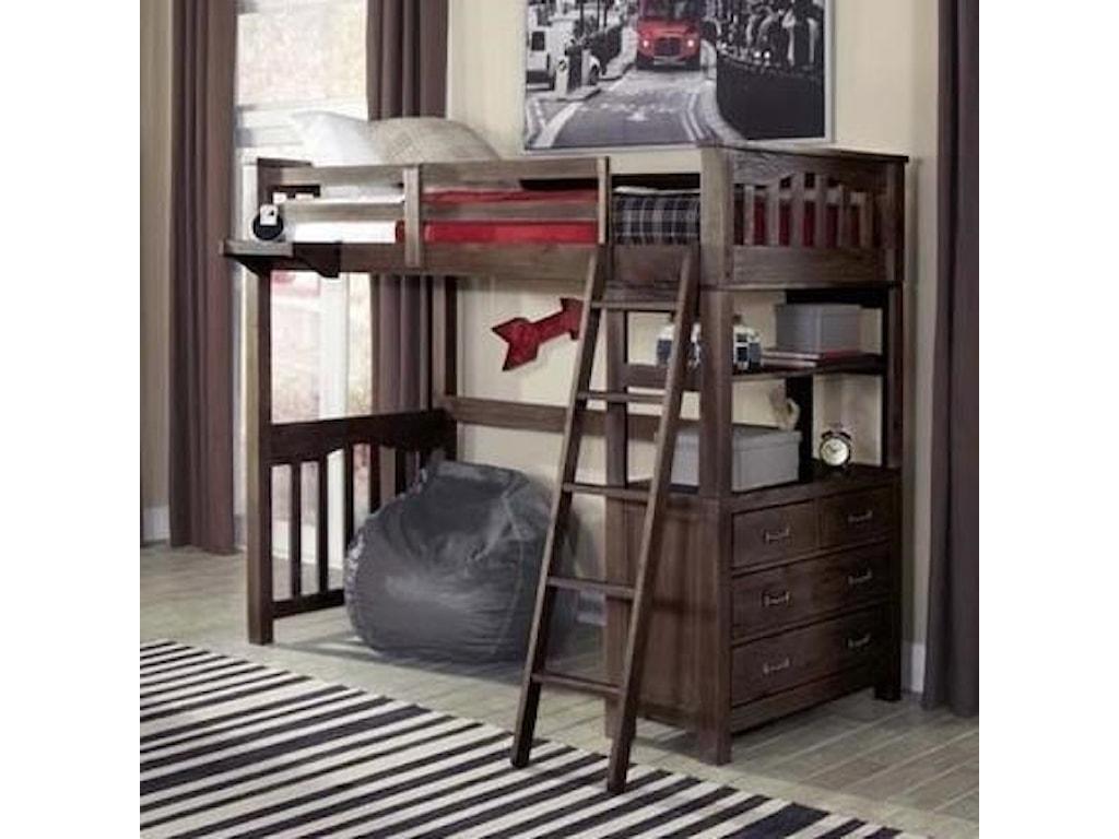 NE Kids HighlandsFull Loft Bed