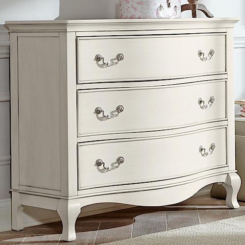 NE Kids Kensington Single Dresser with 3 Drawers
