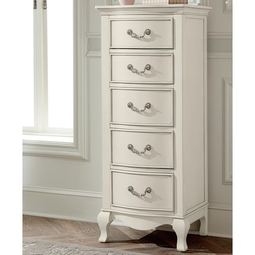 NE Kids Kensington Tall Chest with 5 Drawers
