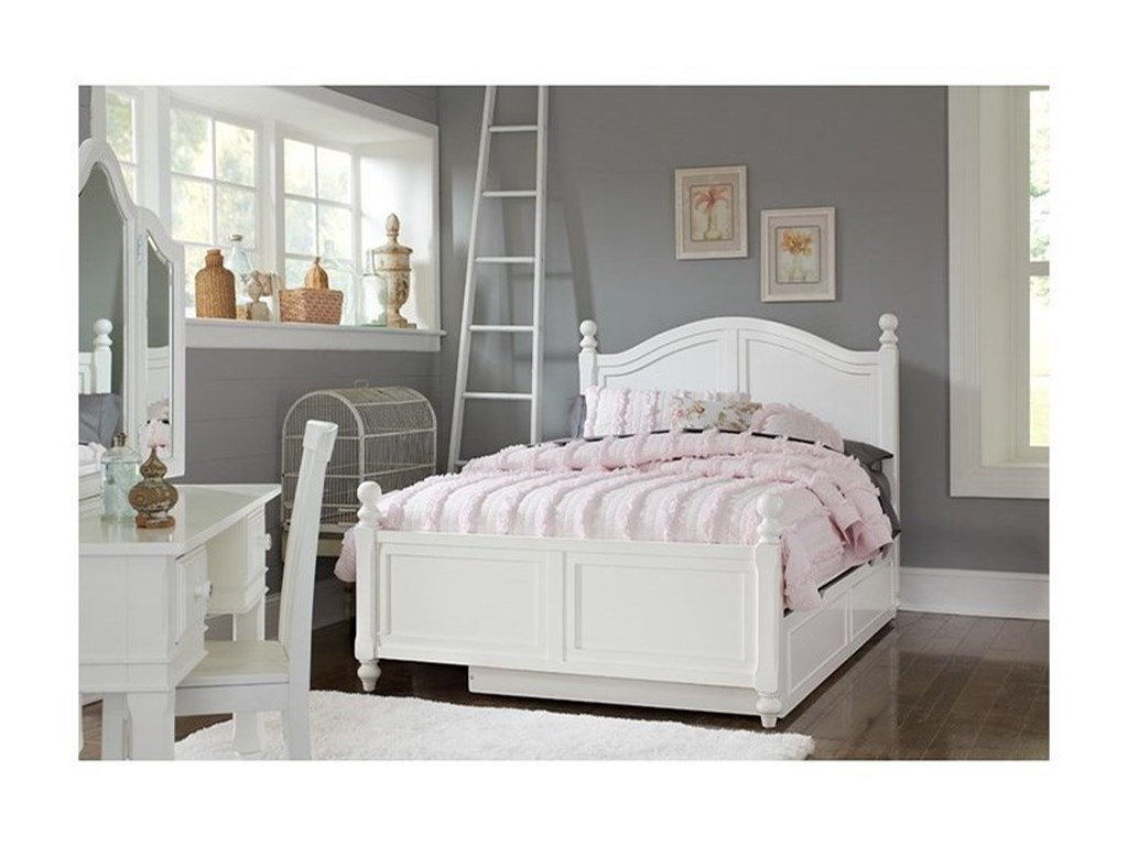 NE Kids Lake HouseFull Bed with Trundle