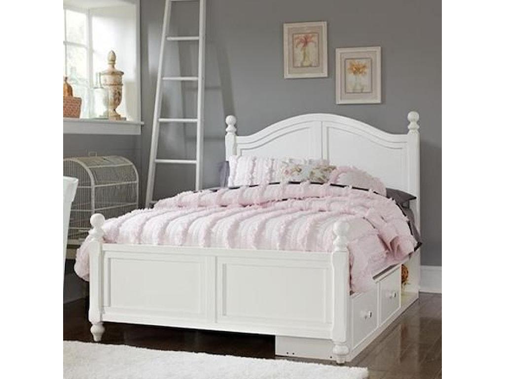 NE Kids Lake HouseFull Payton (Arch) Bed + Storage Unit