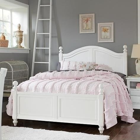 NE Kids Lake House Full Bed with Arched Headboard