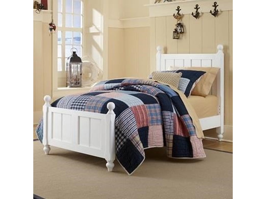 NE Kids Lake HouseTwin Kennedy (Panel) Bed