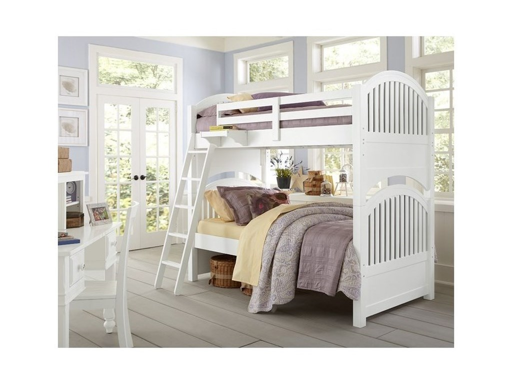NE Kids Lake HouseTwin over Twin Bunk Bed