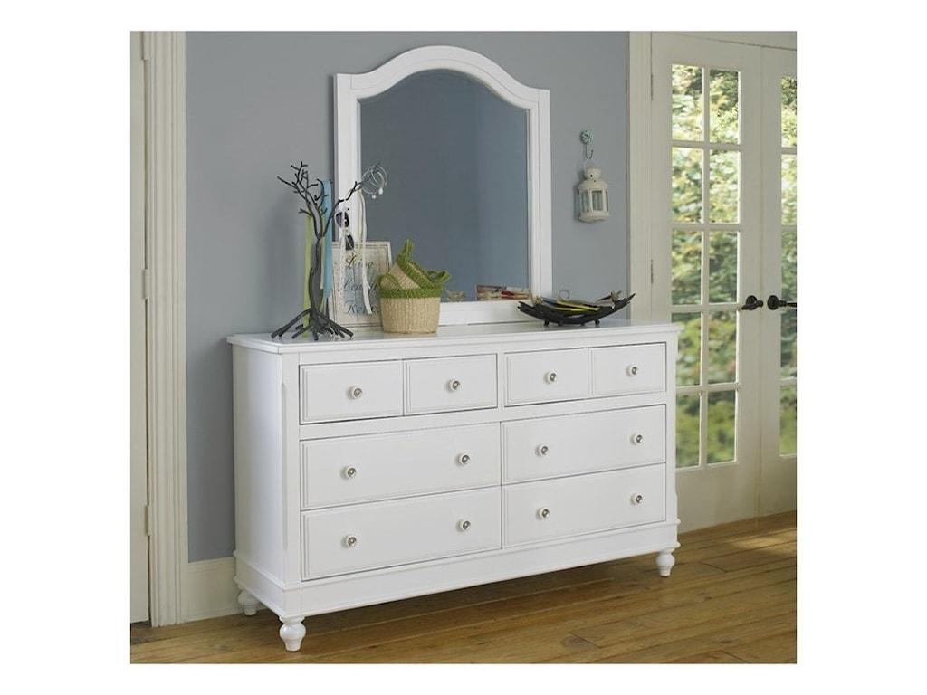 NE Kids Lake House8 Drawer Dresser