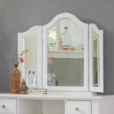 NE Kids Lake House Kids Vanity Jewelry Mirror with Medicine Cabinet