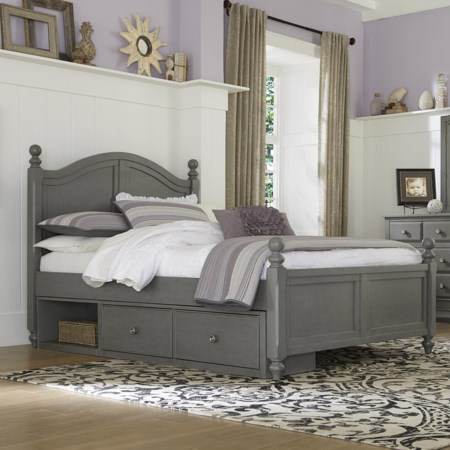 Full Payton (Arch) Bed + Storage Unit