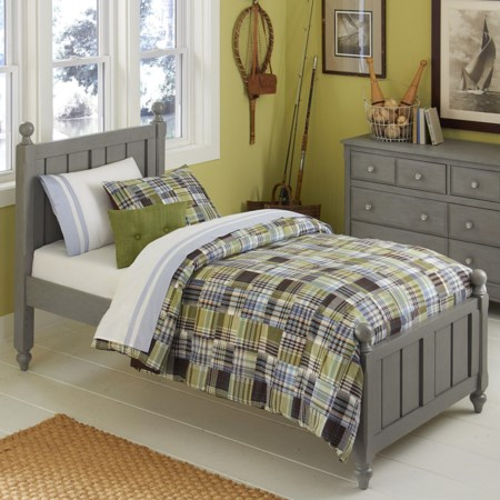 Twin Kennedy (Panel) Bed