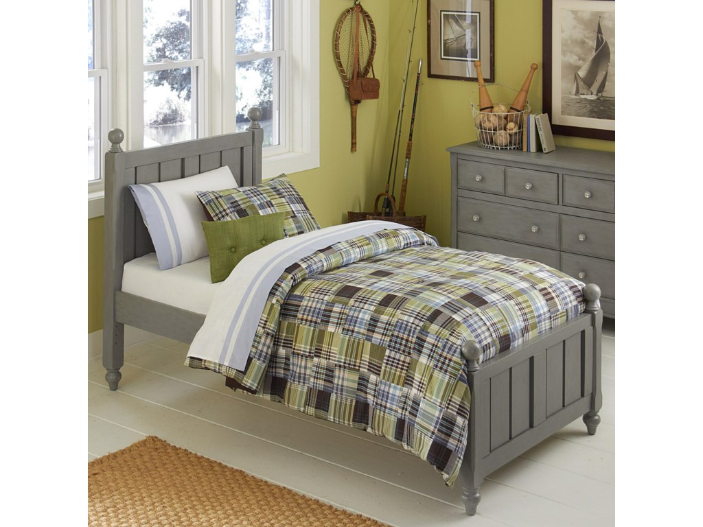 NE Kids Lake HouseTwin Kennedy (Panel) Bed