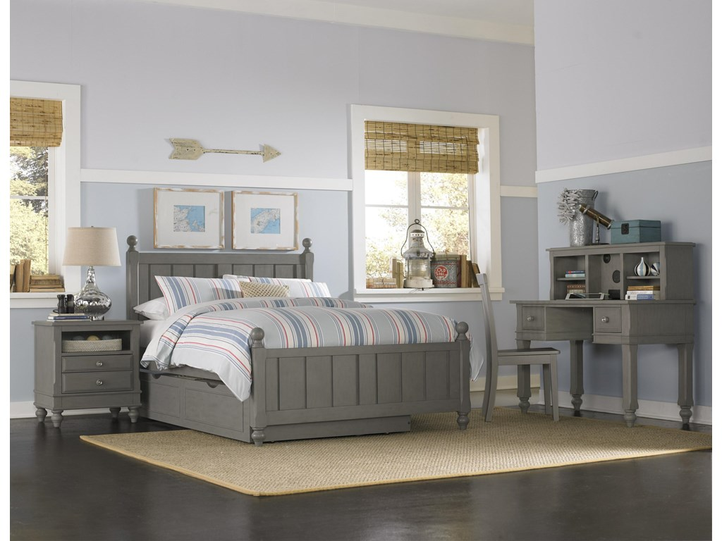 NE Kids Lake HouseFull Bed and Trundle