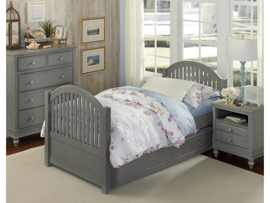 NE Kids Lake HouseAdrian Twin Bed + Trundle