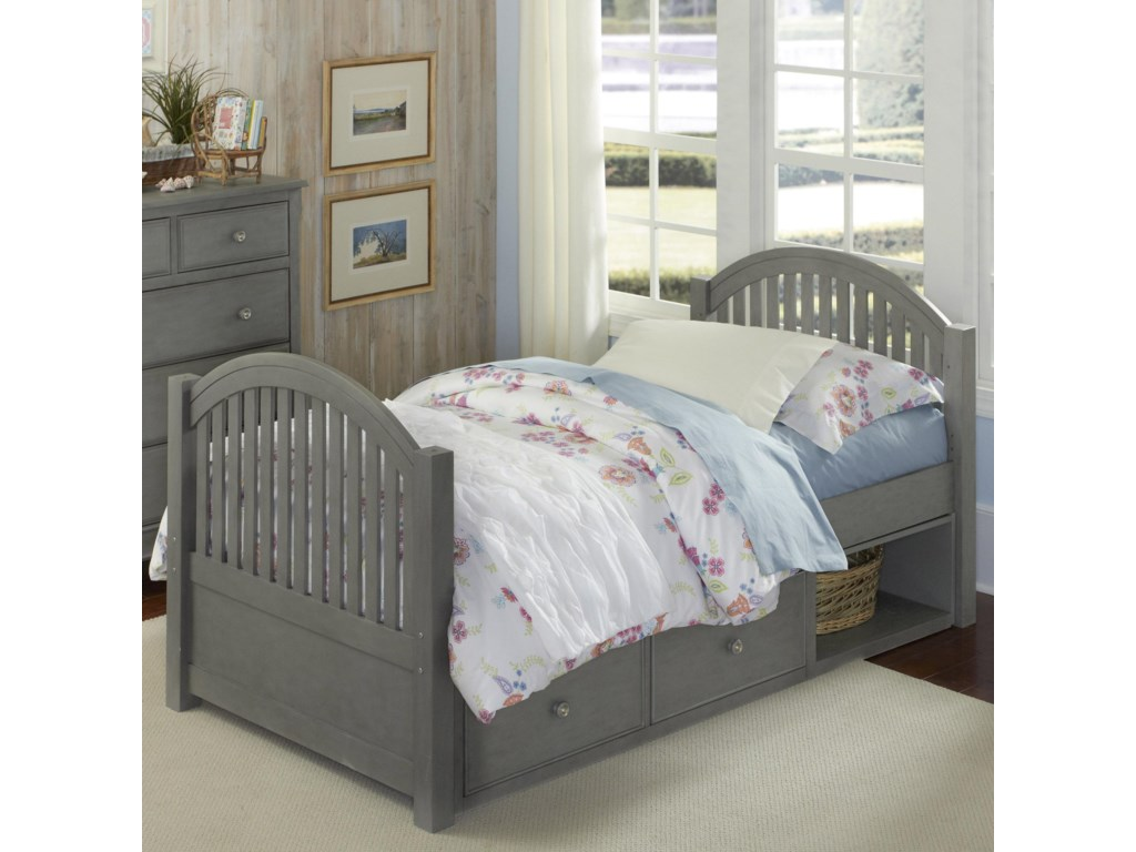 NE Kids Lake HouseAdrian Twin Bed + Storage