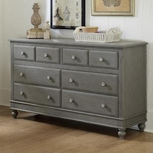 Ne Kids Lake House 8 Drawer Dresser With Secret Drawer Stoney Creek Furniture Dressers