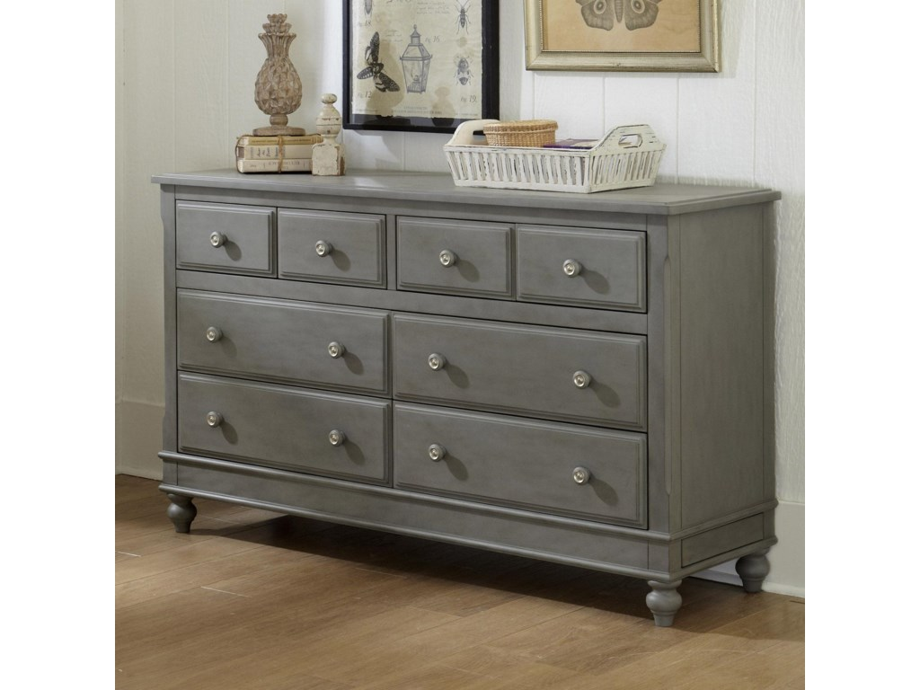 NE Kids Lake House8 Drawer Dresser
