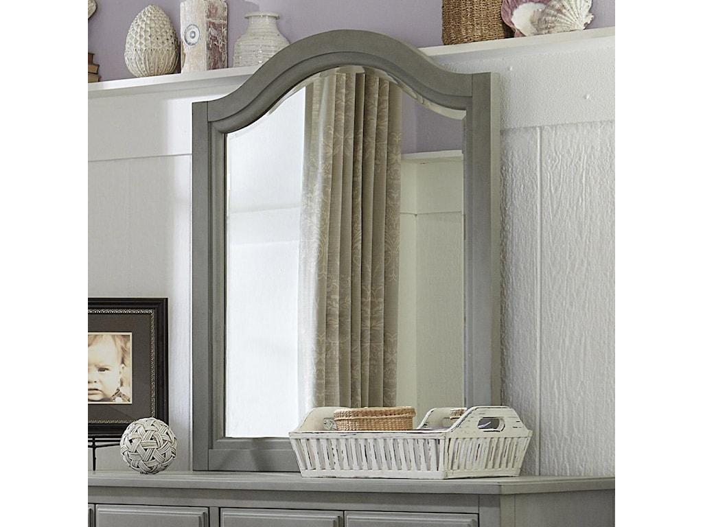 NE Kids Lake HouseArched Mirror