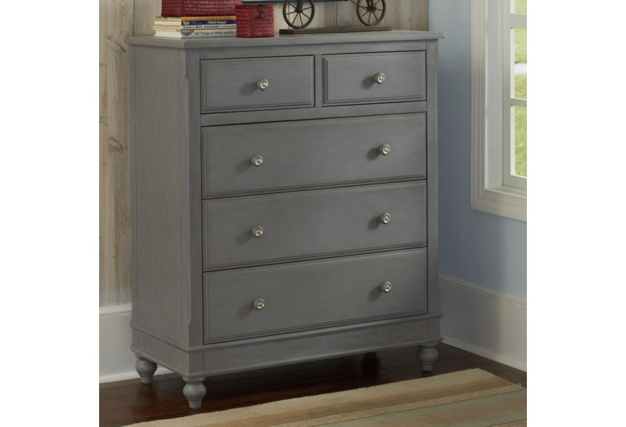 Ne Kids Lake House 2520 5 Drawer Chest