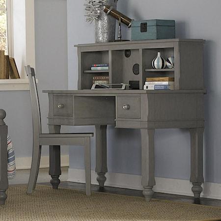 Writing Desk + Desk Hutch + Chair