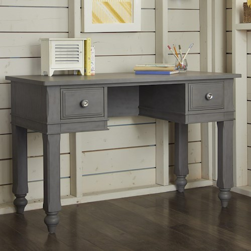 NE Kids Lake House Kids Desk with Two Side Drawers