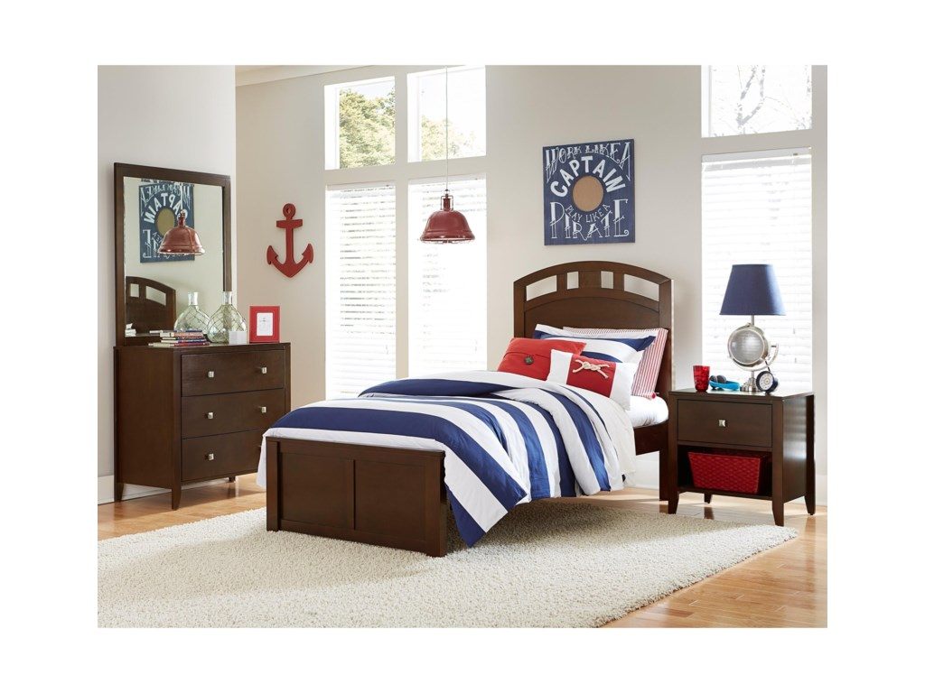 NE Kids PulseTwin Arch Bed