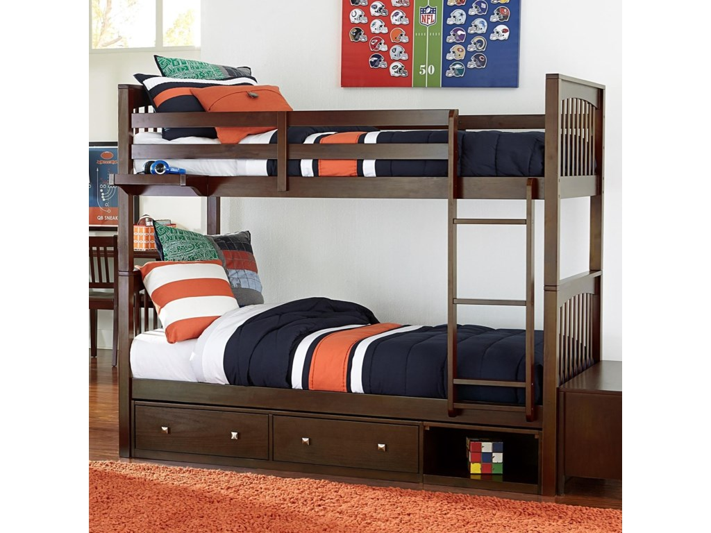 NE Kids PulseBunk Bed with Storage