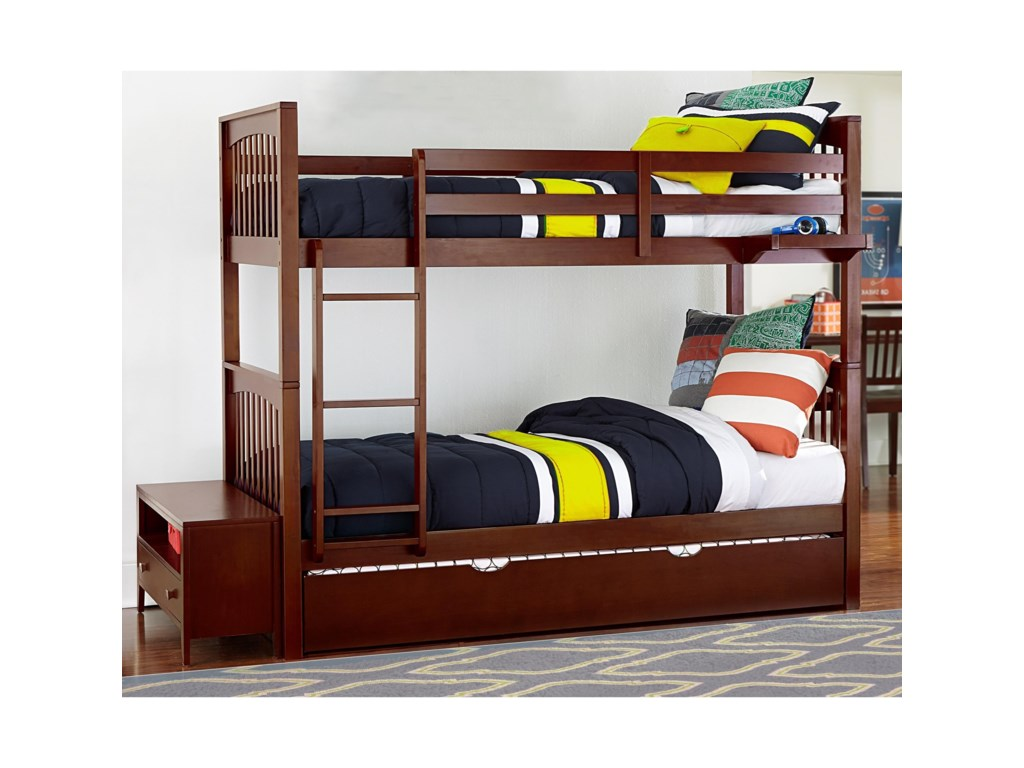 NE Kids PulseTwin Over Twin Bunk Bed