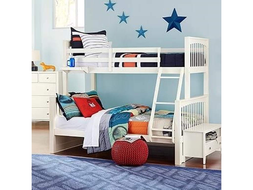 NE Kids PulseTwin Over Full Bunk Bed