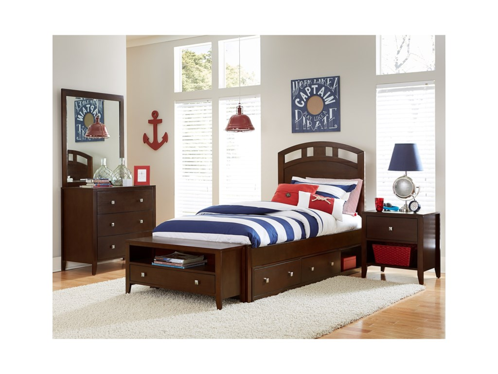 NE Kids PulseTwin Bedroom Group