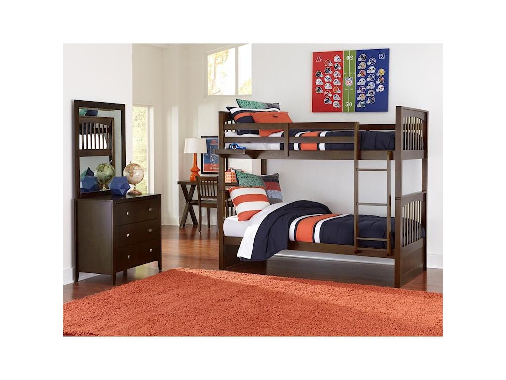 NE Kids PulseTwin Bedroom Group