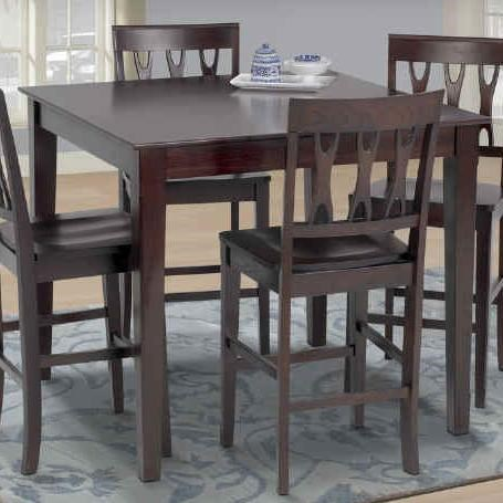 New Classic Abbie Counter Dining Table Beck S Furniture