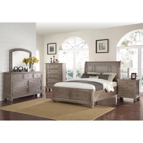 New Classic Allegra California King Bedroom Group Beck 39 S Furniture Bedroom Group Sacramento