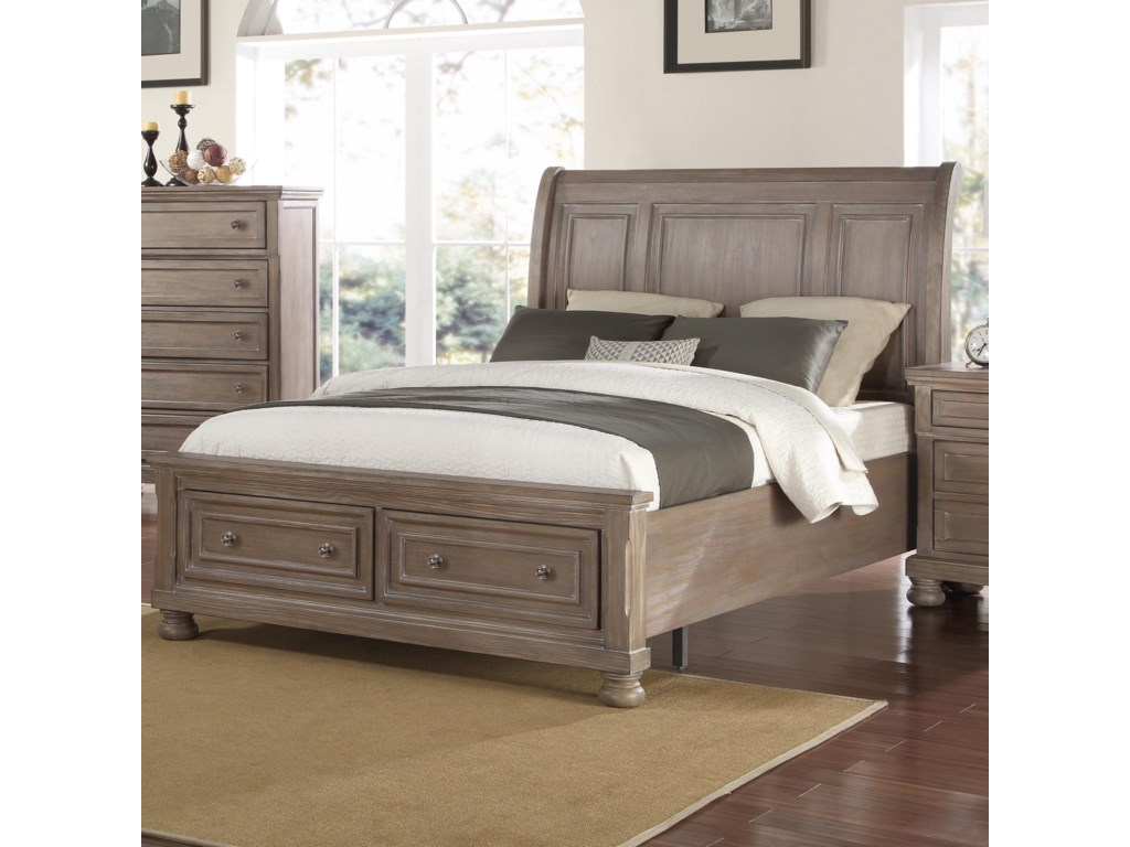 New Classic AllegraKing Storage Bed