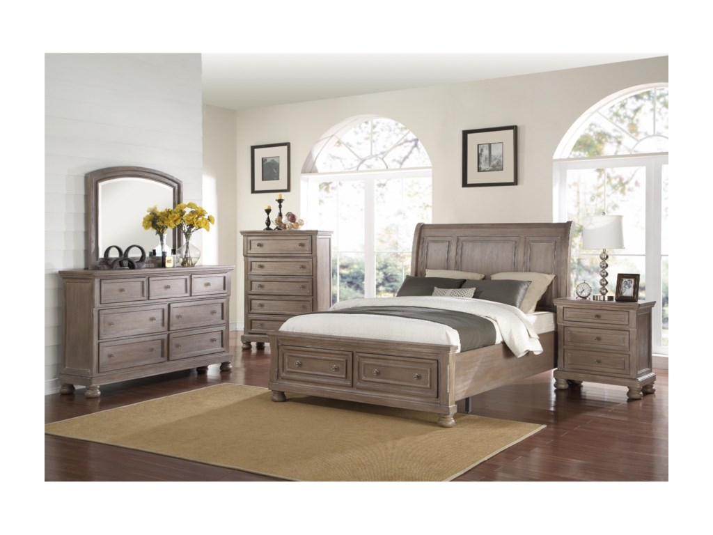 New Classic AllegraCalifornia King Storage Bed
