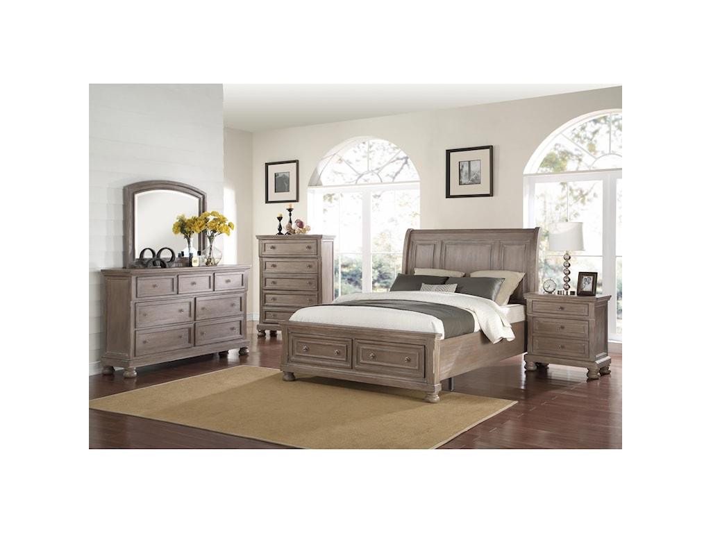New Classic Allegra3 Piece Bedroom Set