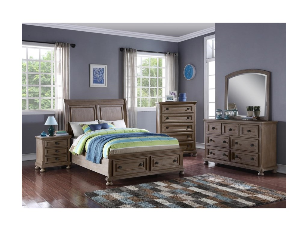 New Classic Allegra4/6 Full Bed
