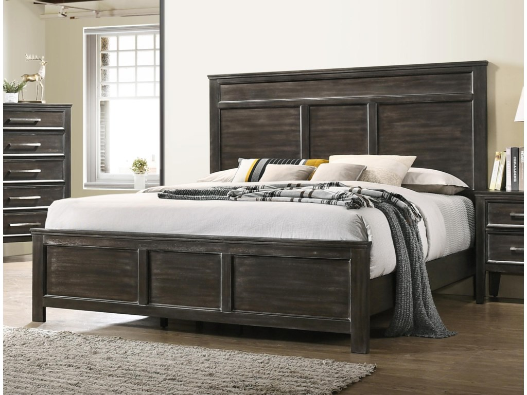 New Classic AndoverQueen Panel Bed