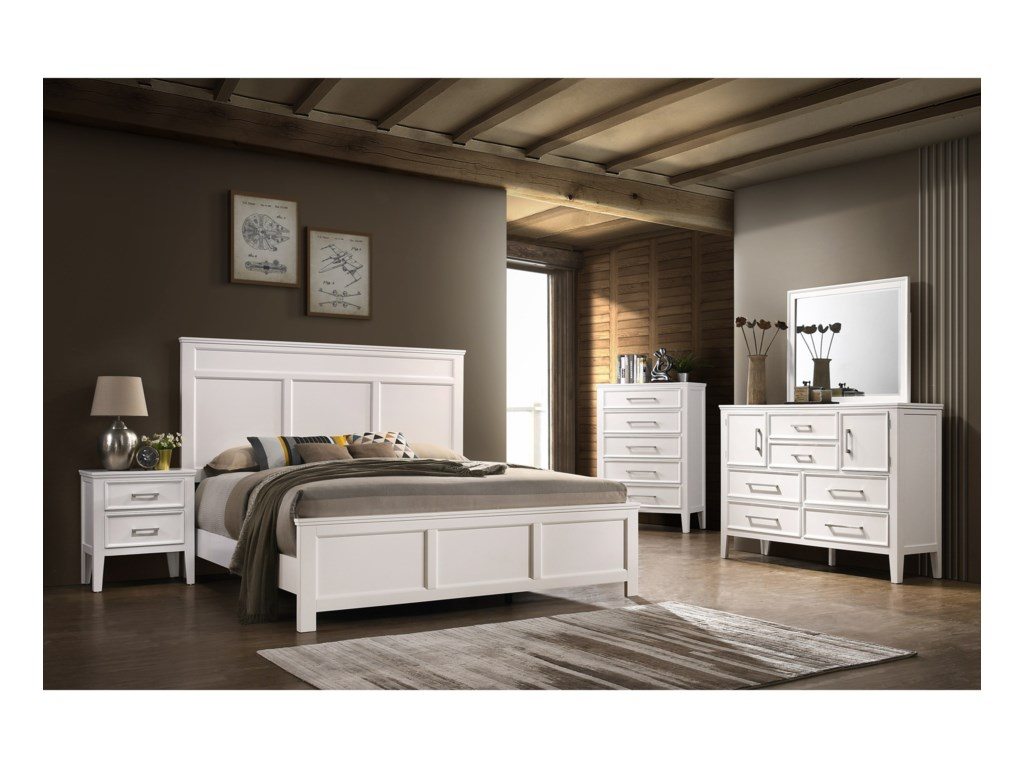 New Classic AndoverKing Bedroom Group
