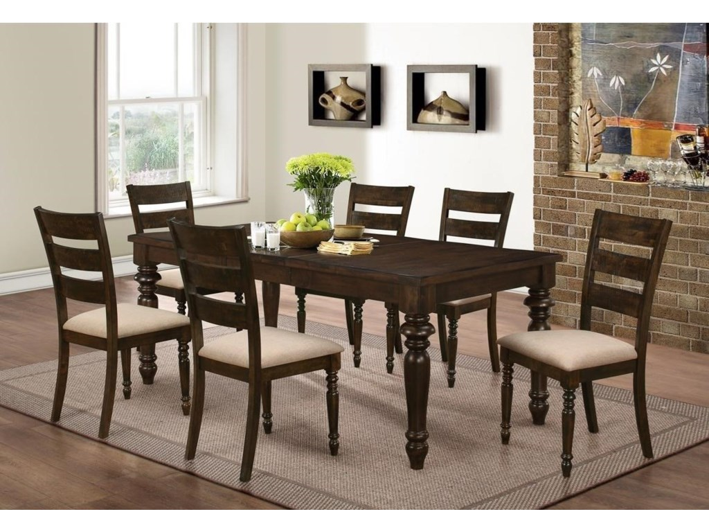 New Classic Annandale7 Piece Dining Set